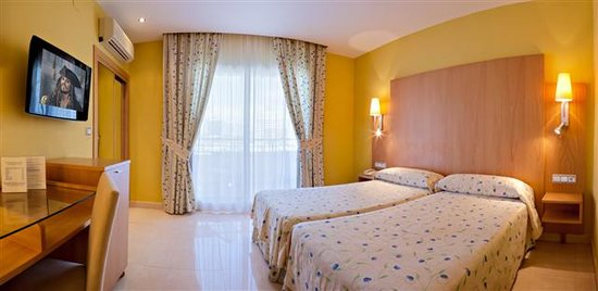 Hotel La Cala: Hbitación Doble con Vistas laterales al mar
