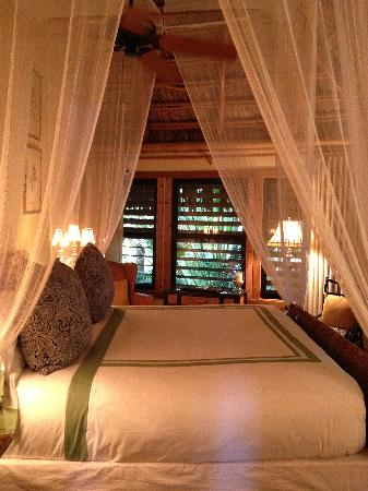 Little Palm Island Resort & Spa, A Noble House Resort: Our room.  Very romantic