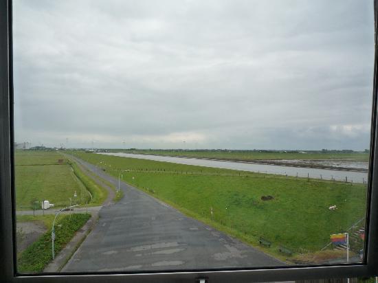 Nordsee Hotel Husum: vue depuis la chambre