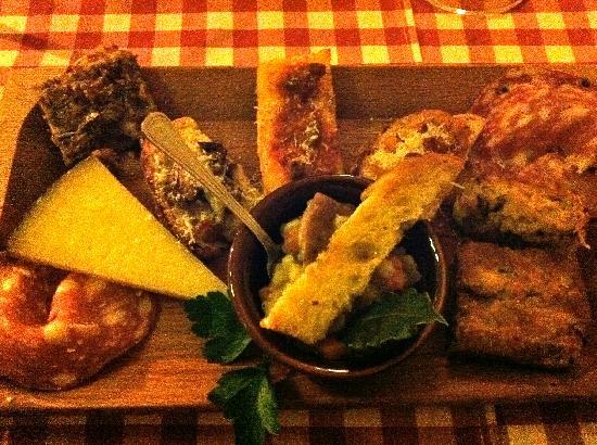 Trattoria Toscana: l'antipasto