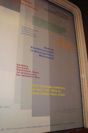 Theater Akzent : Brandschutzvorhang