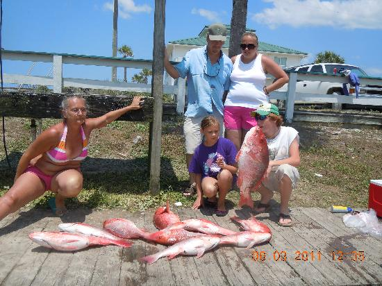 Mexico Beach Charters A Great Catch