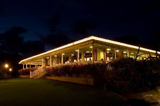 Plantation Gardens Restaurant: Plantation Gardens in the evening