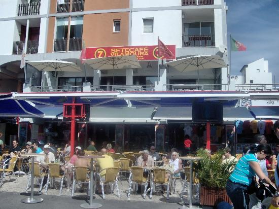 Marina de Vilamoura: Vilamoura Marina - Luis Figo's bar!!