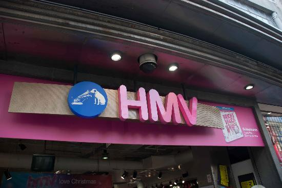 Hmv sign on oxford street picture of hmv london tripadvisor hmv sign on oxford street gumiabroncs Image collections