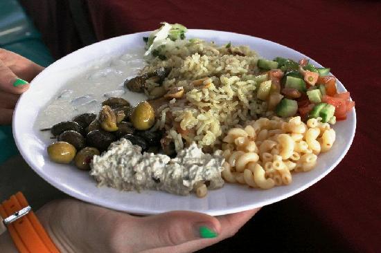 Azraq Palace Restaurant: food