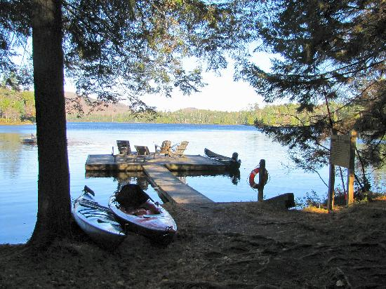 The Waldheim: North Bay on Big Moose Lake