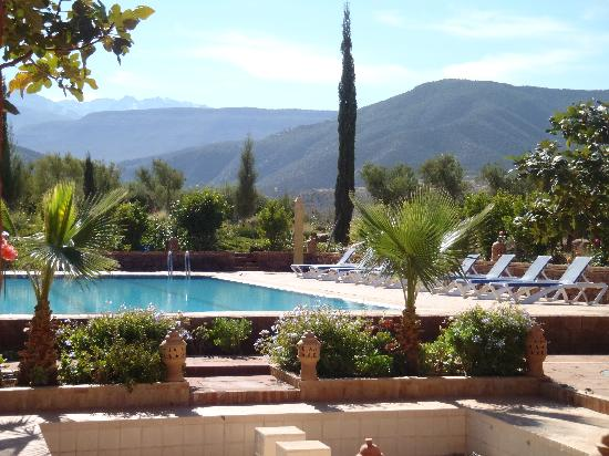 Kasbah Angour Atlas Mountains Hotel: The gorgeous pool