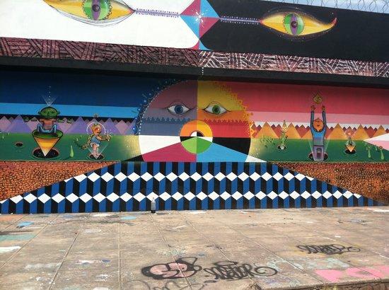 BA Street Art Tours: Power station!