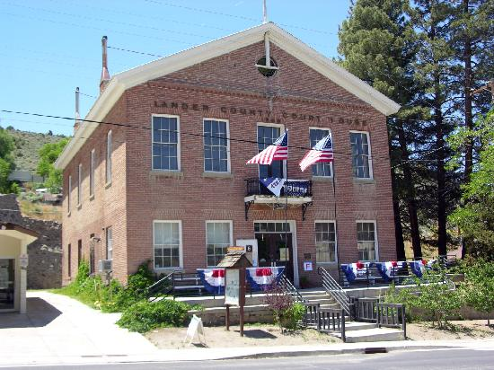 Austin Nv Lander County Court House