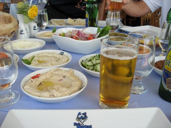 """Fish Market: Meze """"salad course"""""""