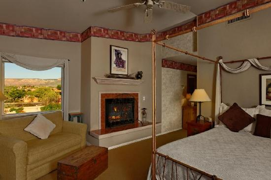 Canyon Villa Bed and Breakfast Inn of Sedona: Ocotillo Guestroom