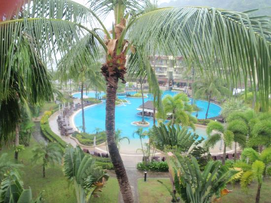 Merlin Beach Resort: From the room.
