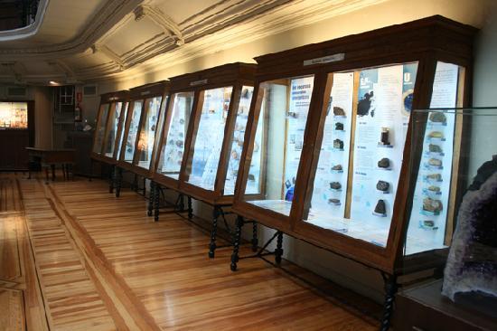 Museo Geominero: Showcase