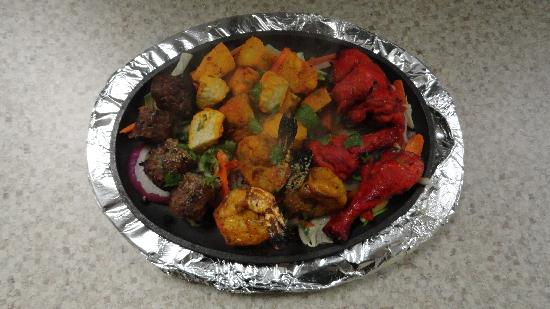 Sai Ram Indian Cuisine: Tandoori Mixed Grill