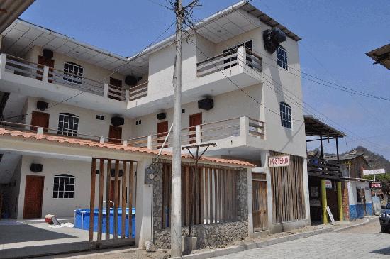 San Clemente, Ekwador: Hostal Puerto Polo