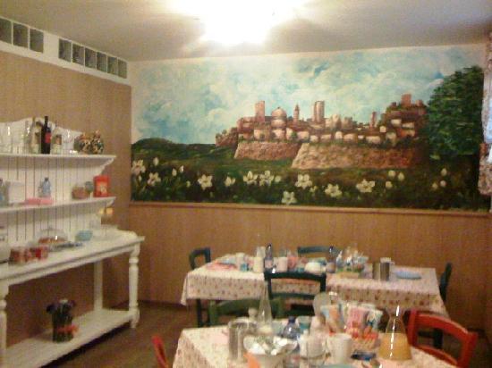 Bombyx Inn : Breakfast room