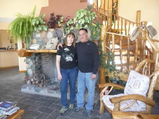 Trevelin, Argentina: Living con hogar