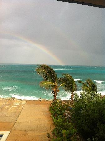 وينتر هافين: Rainbow View From Room