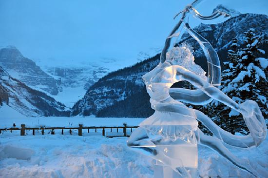 Banff, Kanada: Ice Magic in Lake Louise
