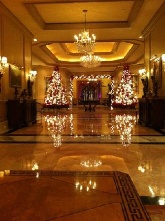 The Ritz-Carlton, Cancun : lobby navideño