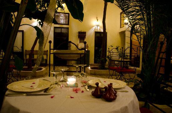 Riad Dar Tayib: Dinner