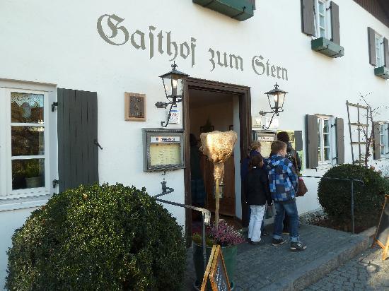 Gasthof zum Stern: Eingang