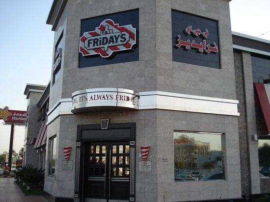 TGI Friday's: facade
