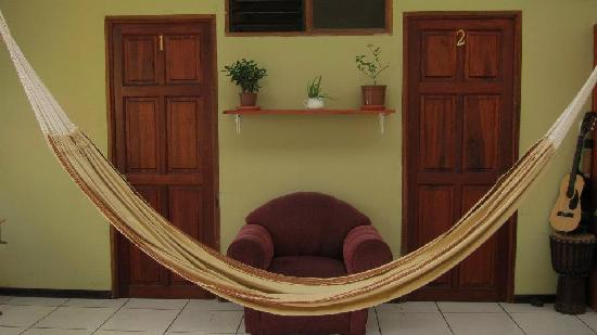 The Sleeping Indian Guesthouse: Our Hammock