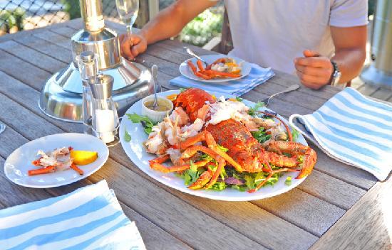 The No Road Inn: Cook Strait Crayfish.