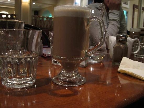 The Galleon Restaurant: Irish Coffee