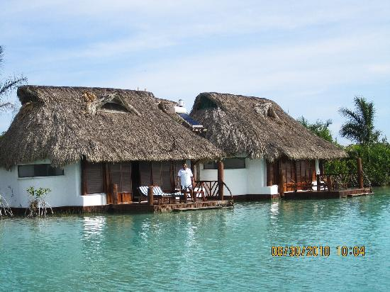 El bora bora mexicano picture of centro holistico akalki for Villas wayak bacalar