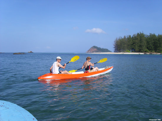 Myeik (Mergui) Archipelago, Birmania: Kayaking in Lampi National Park - Photo Mergui Princess