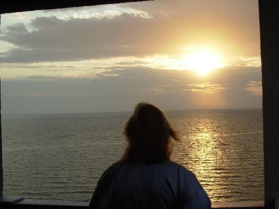 Radisson Hotel Corpus Christi Beach: Sunday morning sunrise