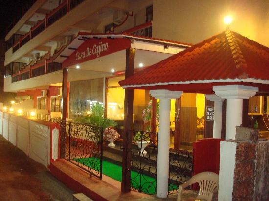 Casa de Cajino: Entrance