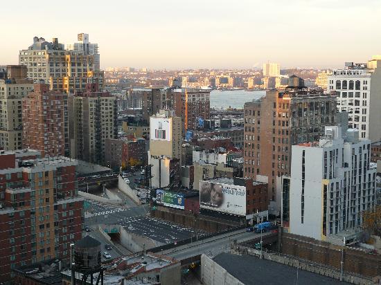 Holiday Inn Express New York City Times Square: con vistas al río Hudson