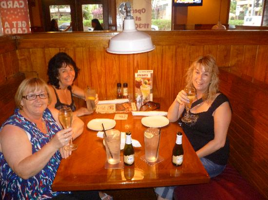 Outback Steakhouse: our final night in Honolulu