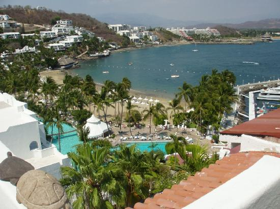 Las Hadas By Brisas: view from outdoor deck at my place