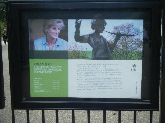 Diana Princess of Wales Memorial Playground: Princess Diana Playground