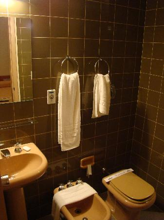 Hotel das Americas: Bathroom