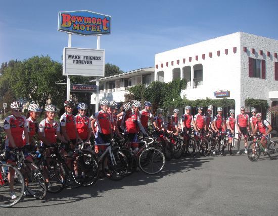 Bowmont Motel: Best training spot ever!!