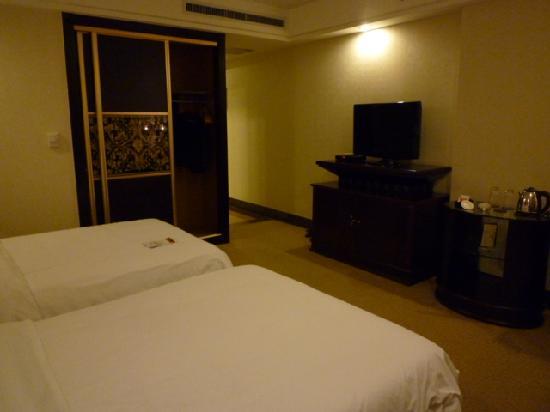 Ligang Crown Hotel : The bedroom