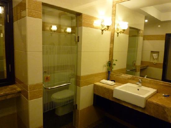 Ligang Crown Hotel : Bathroom/toilet