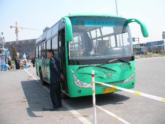 Jinshitan Scenic Area: このバスで巡ります