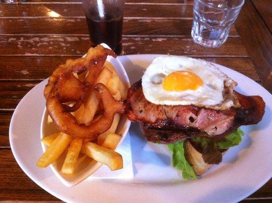 Honest Lawyer: Openface Steak Sandwich