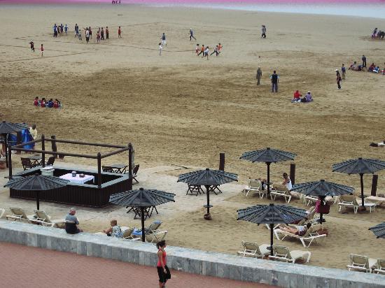 Hotel Riu Tikida Beach: vue de la chambre