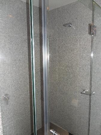 Mantra Tullamarine Hotel: Large glass shower