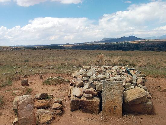 Maseru, Lesotho: Moshoeshoe I grave