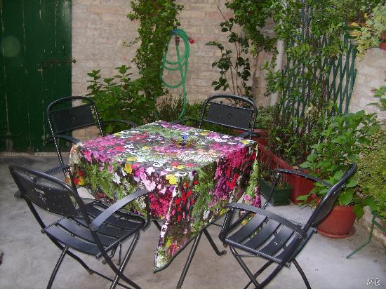 Hotel Rossi: Terrasse