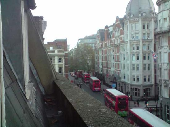 Gresham Hotel: View from 3rd floor window